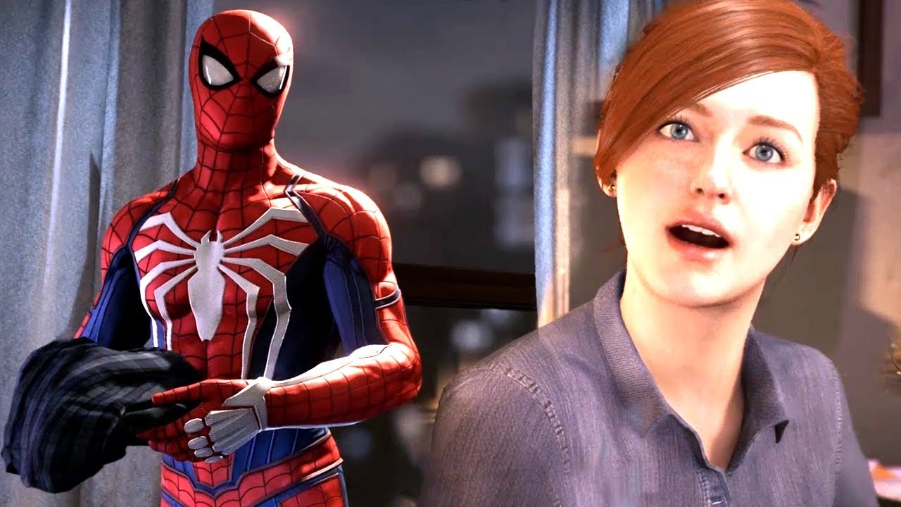 Spider-Man Drops His Clothes In Mary Jane's Kitchen | Spider Man Ps4 Walkthrough Part 9