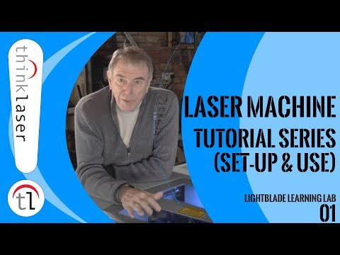 How To Use a Laser Cutter - Lightblade Learning Lab  - 01 Introduction