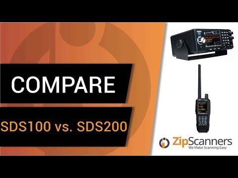 Uniden SDS100 Vs. Uniden SDS200 | Police Scanner Comparison
