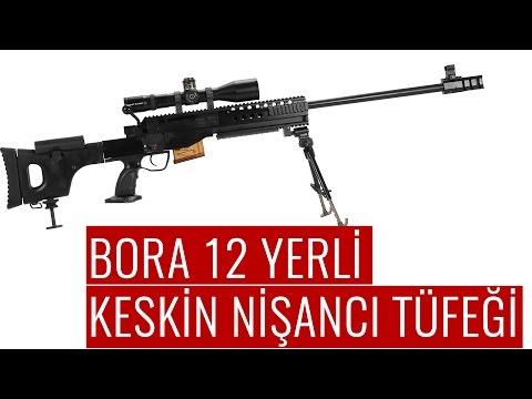 Bora 12 Türk Keskin Nişancı Tüfeği Tanıtım Videosu