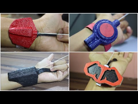 4 Spider-Man Web Shooters You Can Make At Home