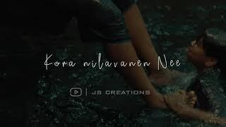 """Nenja Unakaaga""|sindhubaadh|vijay sethubathi|anjali|lyric video|whatsapp status|JS creations"