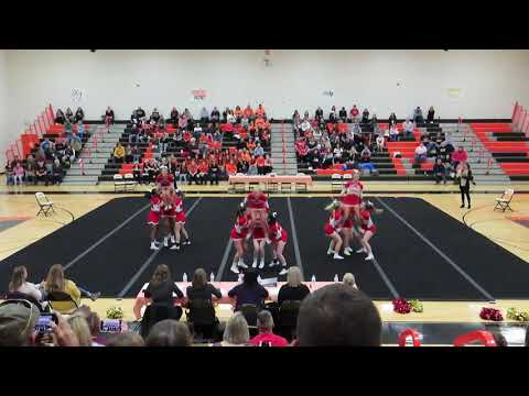 Goochland High School at 3B Regional Cheer Competition 2019