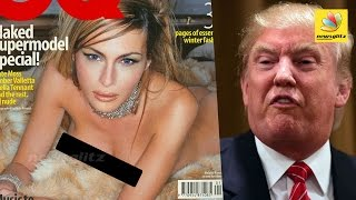 President Donald Trump's wife racy pictures LEAKED | Hot World Tamil News | Melania, USA