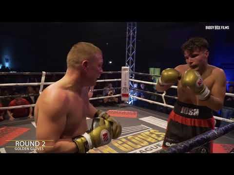 Josh Hoy vs Billy Morgan - Golden Gloves