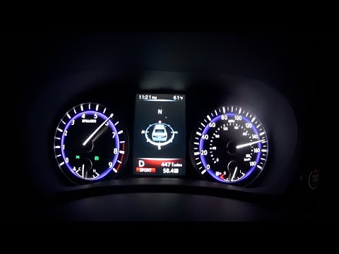 Infiniti Q50 0 60 >> Official Infiniti Q50 0 60 Top Speed Youtube