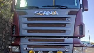SCANIA R500 TOPLINE - ISLA DEL HIERRO