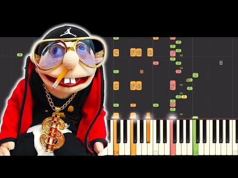 Jeffy The Rapper 2 - Instrumental Remix - Piano Cover - Jeffy SML