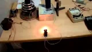 Электростатическая передача энергии Тесла