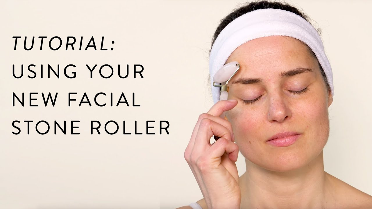 Using Your New Facial Stone Roller 101 Skincare Tutorial Ft