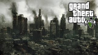 GTA 5: A LONG WINTER. (Zombie Apocalypse)