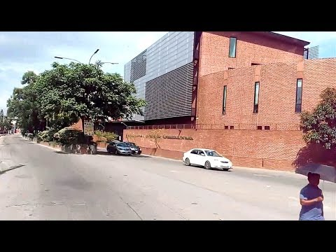 American Embassy from Banani Drive by only 4 Minutes II Dhaka City Drive