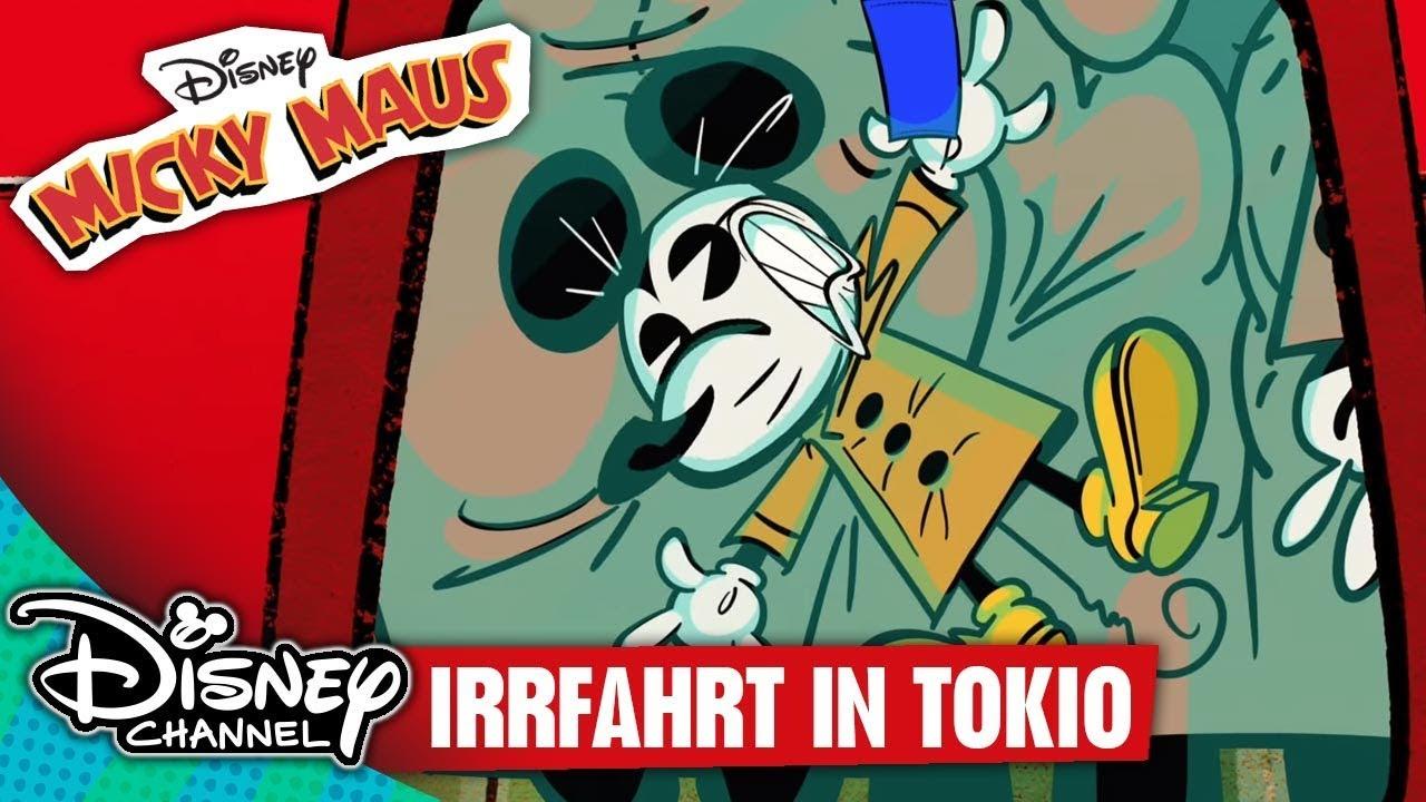Micky Maus Short  Irrfahrt in Tokio  Disney Channel  YouTube