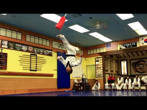 Incredible Taekwondo Skills
