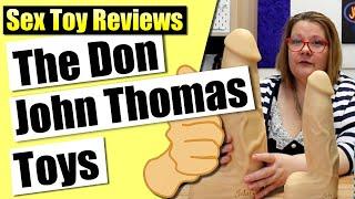 Don Silicon Dildo fra John Thomas Toys
