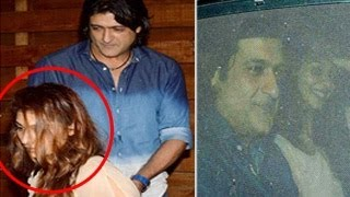 Tanisha Mukherjee & Armaan Kohli SECRET DINNER DATE