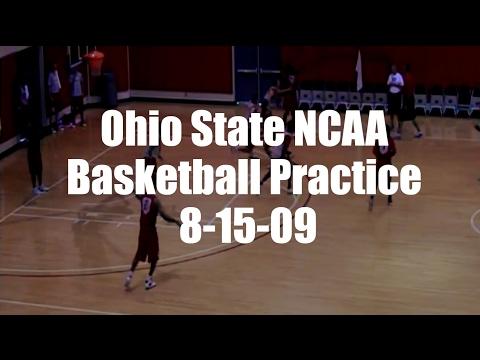 Ohio State NCAA Basketball Practice 8-15-09