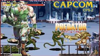 Alien Vs Predator Arcade Lev8 Major Dutch Schaefer no death playthrough