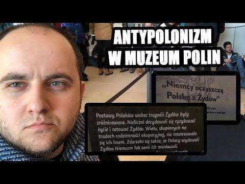 Wychodząc z Muzeum Polin obcokrajowiec ma świadomość, że Polacy to zwierzęcy antysemici!