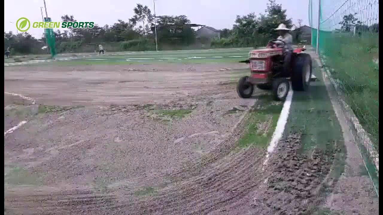 Quy trình thi công sân bóng cỏ nhân tạo 7 người tại Quốc Oai