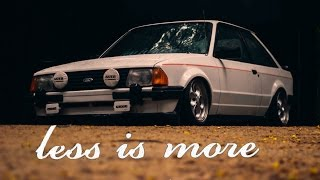 Escort XR3 | Less is more