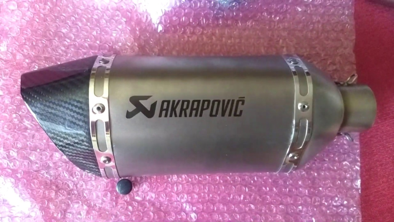 MT-07 Famoso CHINOPOVIC! 🔥 EXHAUST! 🔊 | ALIEXPRESS UNBOXING 🛒