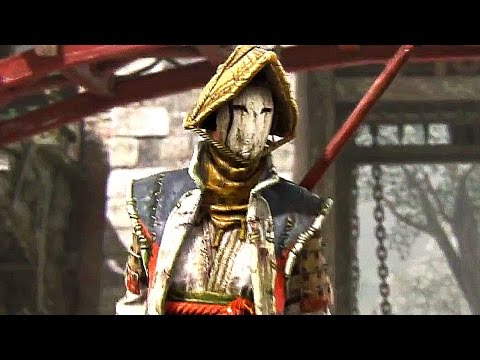 For Honor NEW Samurai Gameplay Trailer (PS4 Xbox One PC) 2017