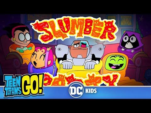 Teen Titans Go! em Português | Pânico na Festa do Pijama | DC Kids