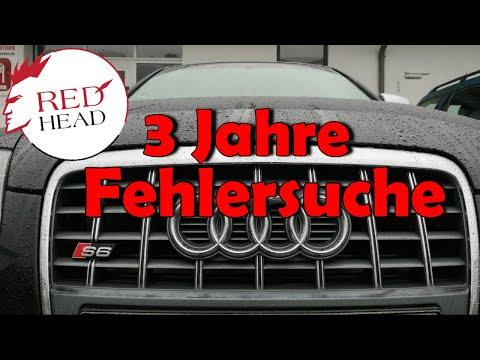 6 Werkstätten - 6 hohe Kfz-Rechnungen 💶 - 6x versagt am Audi S6 4F 5.2 | Redhead