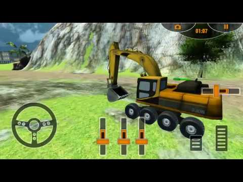 Real Construction Excavator 3D