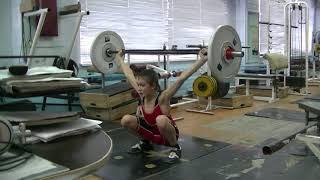 Попов Максим, 12 лет, вк 38 Рывок 21 кг Есть личный Рекорд! Новичок