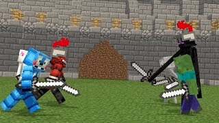 - FNAF vs Mobs Life Minecraft Animation