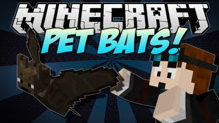 minecraft   pet bats feed them pie call them your own   mod showcase 1 6 1