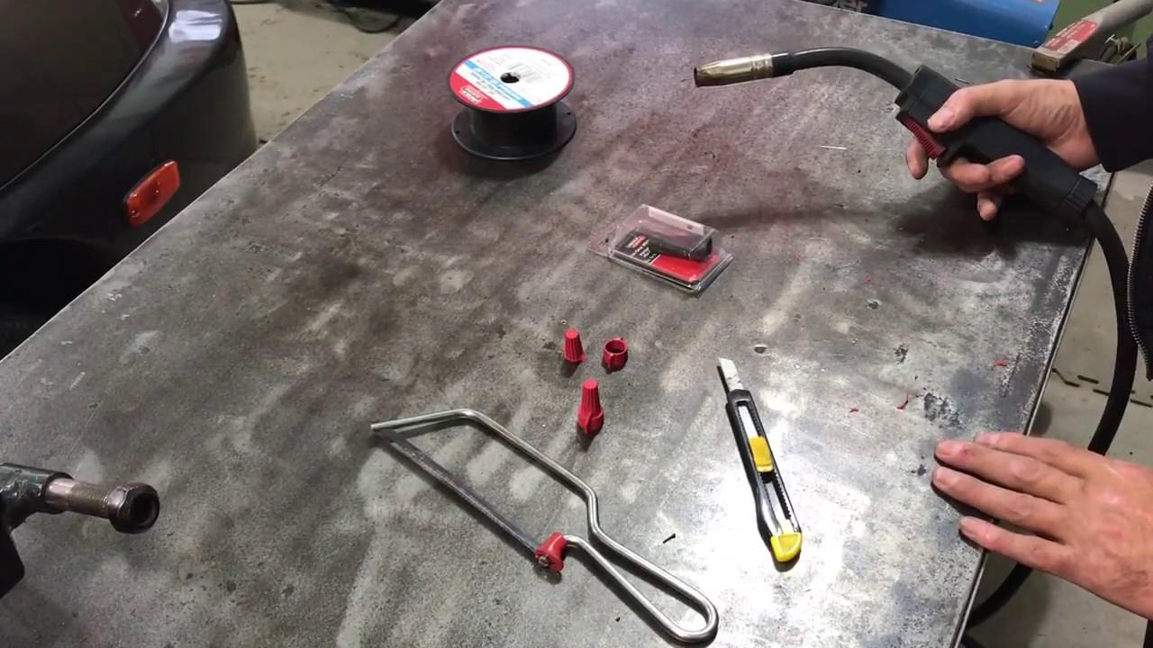 Flux Core Welding Tip
