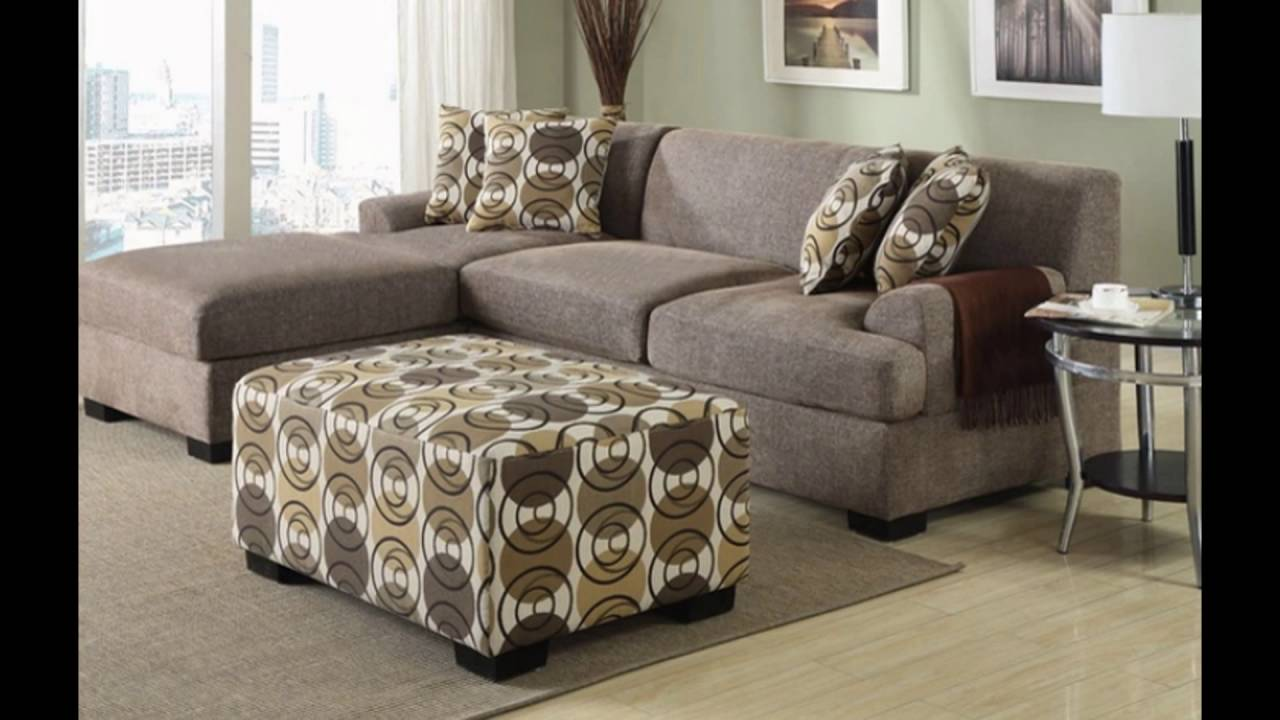 apartment sectional sofas for small spaces - YouTube