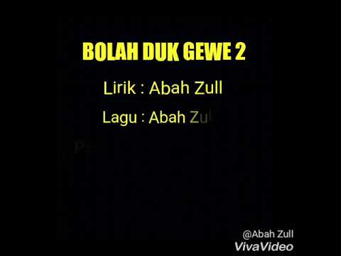 Bolah duk gewe 2 - cover by AbahZull