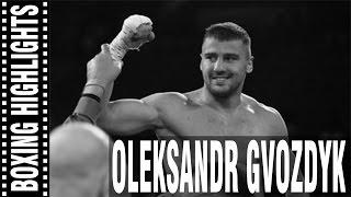 Oleksandr Gvozdyk Highlights