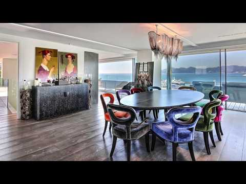 Outstanding 5 Bedroom Penthouse on Cannes Croisette with 360° Sea Views