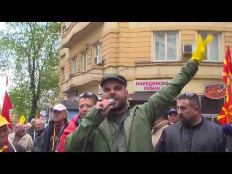 """""""ЗА ЗАЕДНИЧКА МАКЕДОНИЈА"""" и денеска му изрази поддршка на Ѓорге Иванов"""