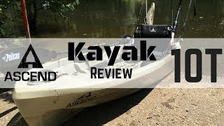 Ascend 10 T Bass Pro 2017 Kayak Review/Stand Test