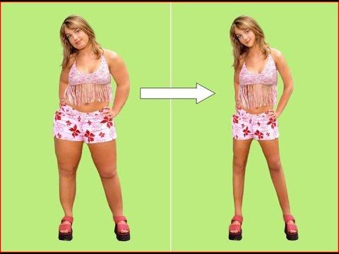 Skinny girl to fat girl