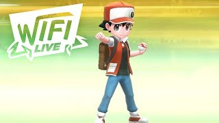 Pokemon Let's Go Pikachu & Eevee Wi-Fi Battle: Trainer Red Theme Team! (1080p)