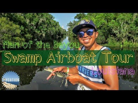 BAYOU SWAMP AIRBOAT ADVENTURE TOUR | LOUISIANA TRAVEL GUIDE 🐊