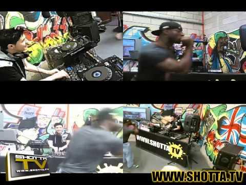 HRDC Kyle WytchWood & MC B / Eufeion & MRC  / LIVE PA Deanne - Mixed up Noise - Shotta TV - Jul 2014
