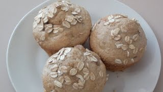 Peach Muffins - Video Recipe