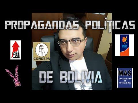 Propagandas Políticas del Recuerdo de Bolivia