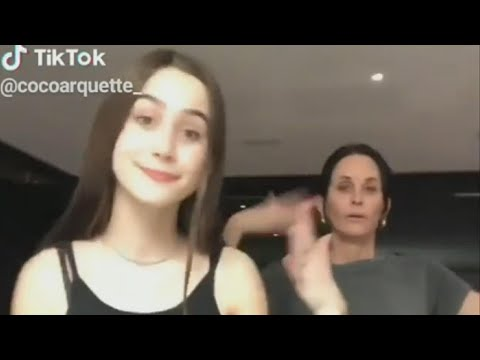 Zito - Courtney Cox And Her Daughter Coco Owning TikTok
