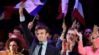 المرشَّح إمانويل ماكْرون يزور بريطانيا لاستقطاب أصوات الجالية الفرنسية