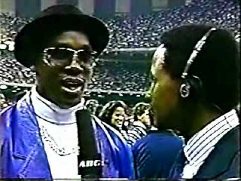 Derrick Thomas Interviewed By Lynn Swann 1990 Sugar Bowl