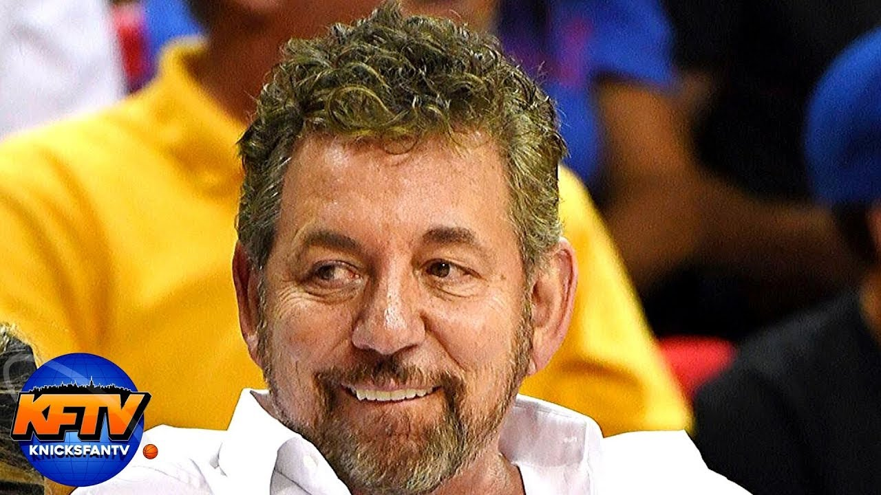 New York Knicks owner James Dolan tests positive for coronavirus